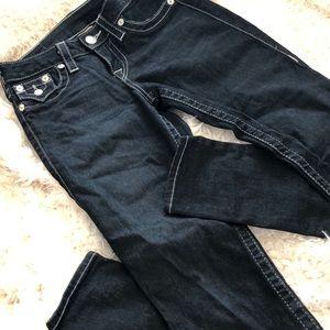 True Religion Dark-wash Skinny Jeans
